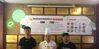 湖南怀化尹先生加盟四海花甲米线